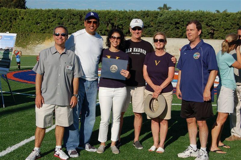 Vistamar Opens New Athletic Field