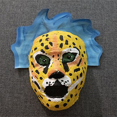 Mask from Spanish III class