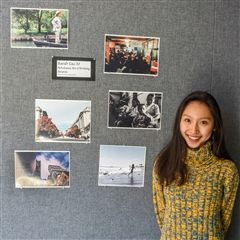 Seven of Sarah Liu's photographs received recognition.