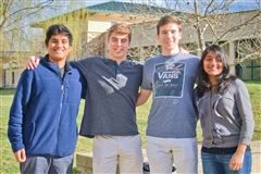 Seniors Mark Carnes, Erik Engelke, Sachin Sanjay, and Sonali Sanjay nominated for the Lexus of Richmond Leadership Award