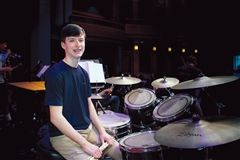 Harrison Gelber earned a spot in the 2020 All-Virginia Symphonic Band