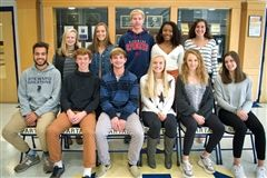 Steward's All-State athletes.