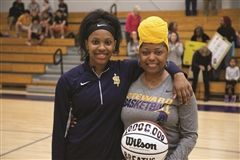 Mimi Trayham '21 and her mother Latasha