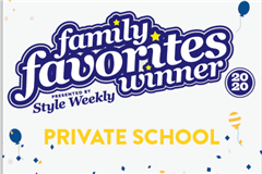 Steward School named Style Weekly family favorite private school in Richmond, VA