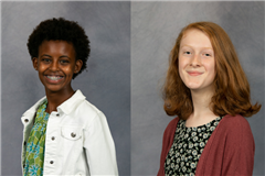 Morgan Shigley '25 and Kaylyn Whiteside '25 named first Impact Scholars at The Steward School in Richmond, VA.