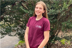 Lucia Fogler '22 of The Steward School was accepted into the National Security Language Initiative for Youth (NSLI-Y) program for the second year in a row.