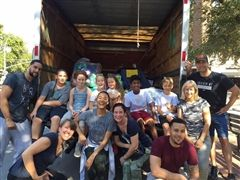 LREI community members send donations to Puerto Rico and Mexico City.
