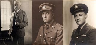 Left to Right- Taylor, Henry James,                        Taylor, Henry Thornton '12,                        Taylor, Henry Thornton Crozier 'Cro' '40
