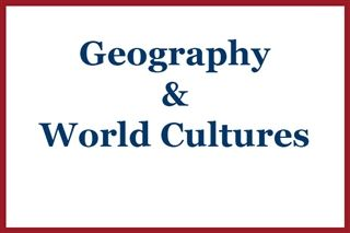 Geography & World Cultures
