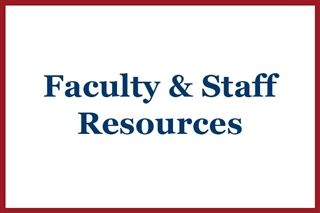 Faculty & Staff Resources