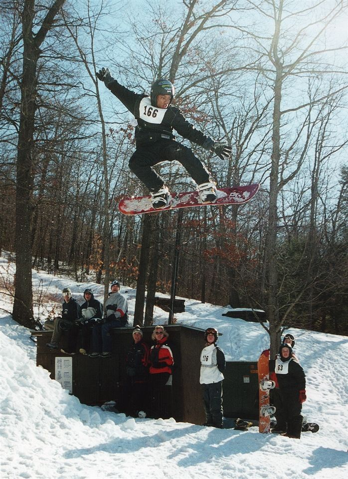 Snowboarding, a new recreational snow sport program began in 1991.