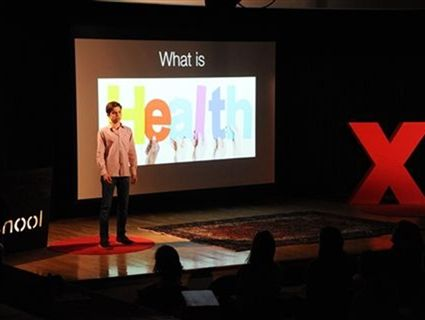 Alex P. '18 presented at the second annual TEDxEaglebrookSchool on April 21, 2018.