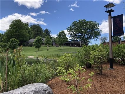 A quiet summer day on the Eaglebrook campus.