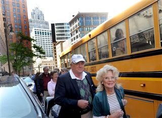 2017 Alumni Weekend - Detroit Bus Tour