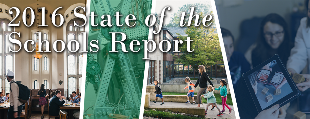 Cranbrook Schools' 2016 State of the Schools Report
