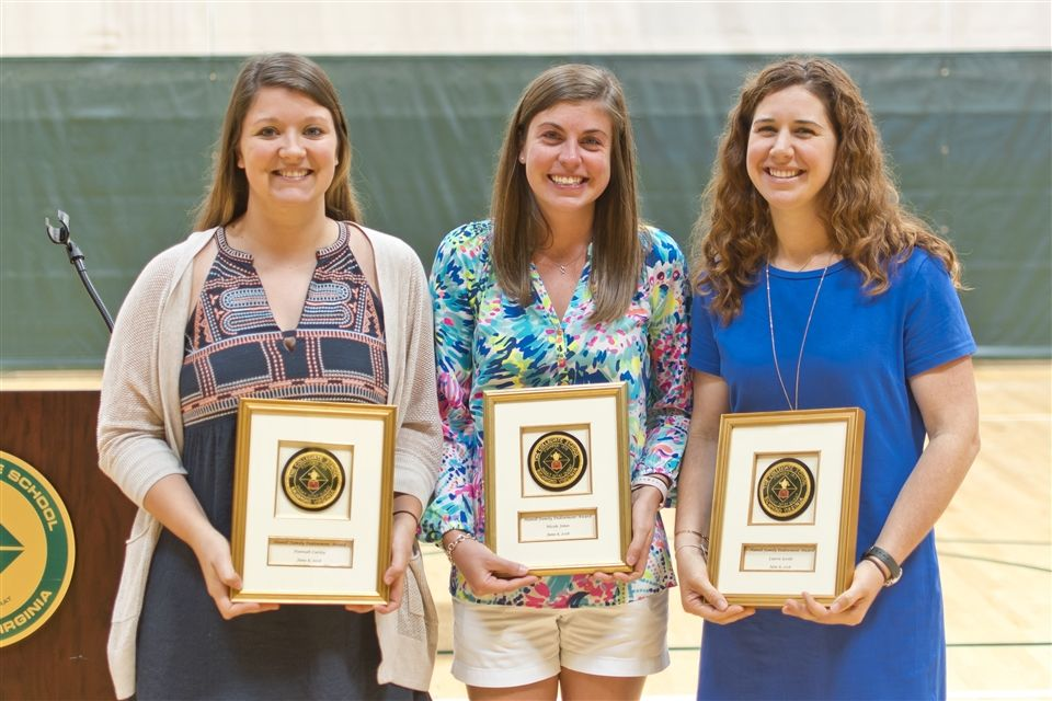 Ms. Goode (far right) received a Hamill Award in June.
