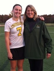 Karen Doxey and her daughter Brooks, a senior at Wake Forest and the 2014 Richmond Times-Dispatch field hockey player of the year.