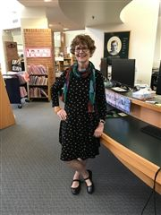 Allison Williams, Collegiate's head Lower School librarian, is retiring after 31 years of distinguished service.