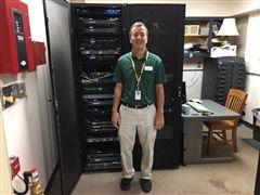 Dave Sherman is Collegiate's director of network services
