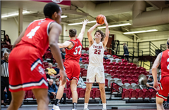 Hampden-Sydney's Jack Wyatt, a 2018 Collegiate graduate, leads the Old Dominion Athletic Conference in scoring (19.0 ppg)