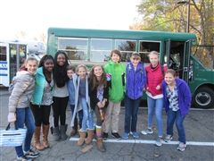 Collegiate Middle School students attend attend the 4th annual Student Diversity Conference.