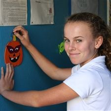 Our Sailor Sisters helped bring A Place Called Home alive with halloween spirit