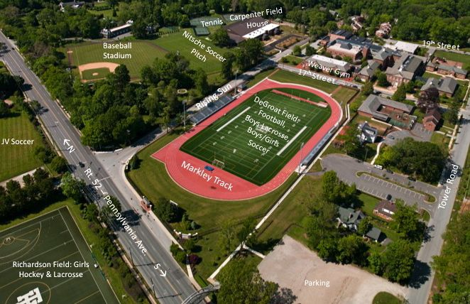 Tower Hill School Athletic Fields