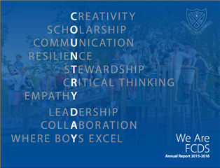 2015-2016 FCDS Annual Report