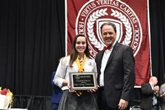 Emma Forrestal was named valedictorian.
