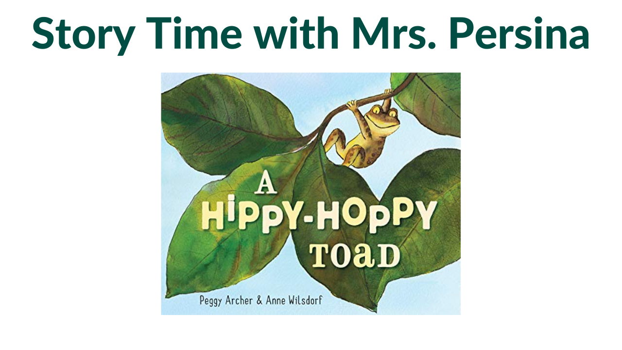 Story Time with Mrs. Persina
