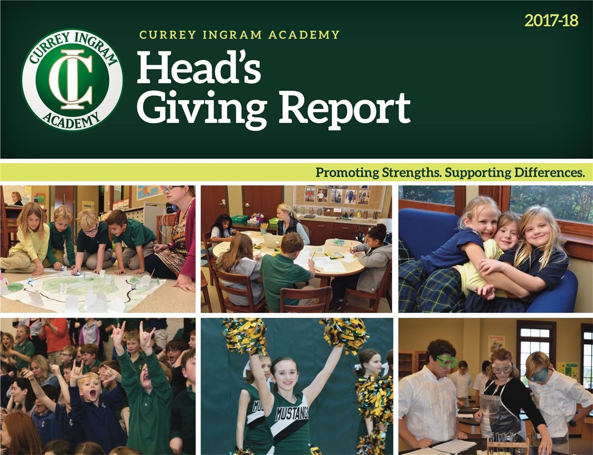 Head's Giving Report 2018-19