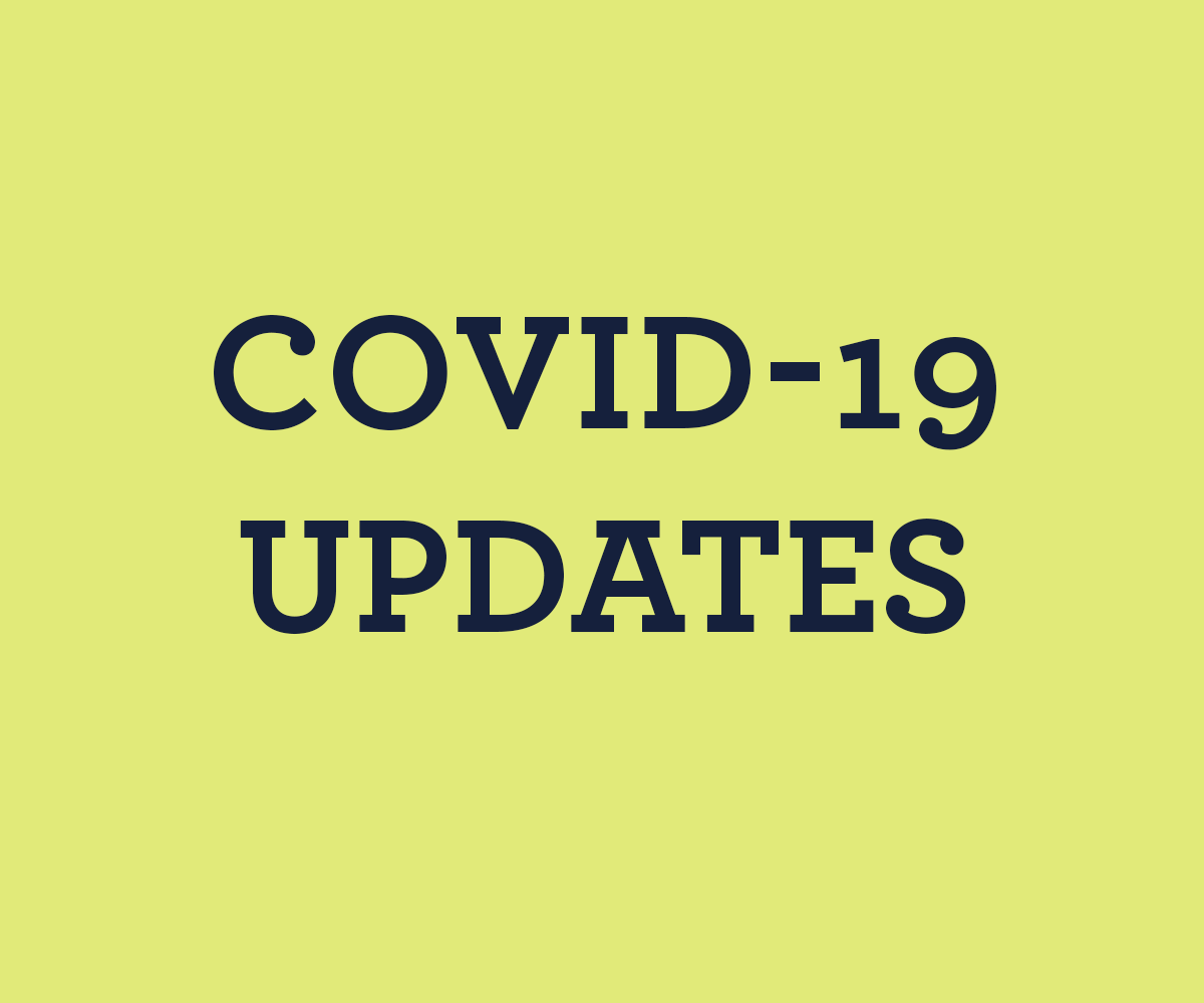 What our community is doing to address COVID-19  concerns
