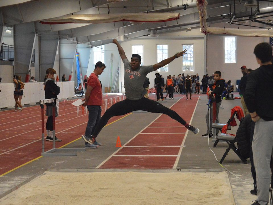 Jayden Smith '21 was named field-event performer of the meet.