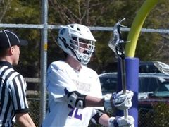 Thomas Lynde '15 earned first-team all-conference honors, scoring 21 goals this season.
