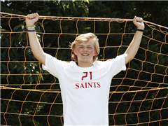 Alexander Levengood '19 has 68 goals in two seasons with the Saints. Photo Credit: Times-Dispatch