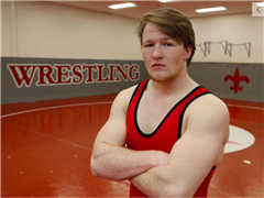 Jackson Turley '19 is StC's first All-Metro wrestler of the year since 2008.
