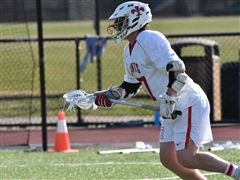 Captain Hartley Jordan '19 poured in three goals at Woodberry Forest.
