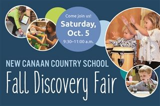 Fall Discovery Fair, Oct. 5, 9:30-11 a.m.