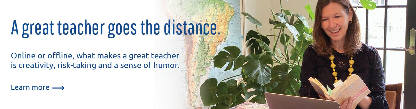 Great Teacher Goes the Distance