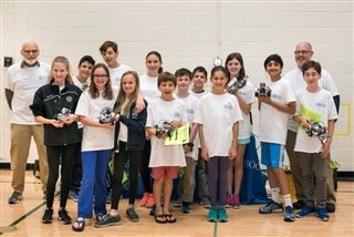 "Country School ""Cougar Bots"" Earn Success at Robotics Competition"
