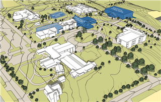 Campus Master Plan (click to enlarge)