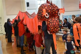 First Graders Celebrate Lunar New Year