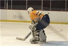 18U Elite Hockey goalie Henry Dennee '17.