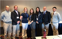 Chair Jennifer Tirillo with members of the NEPSAC Sports Medicine Advisor Committee