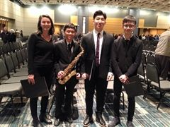 Cheshire Academy's All State Musicians