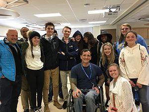 Psychology Class Visits VA Hospital | University School of