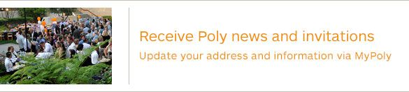 Receive Poly News and Invitations