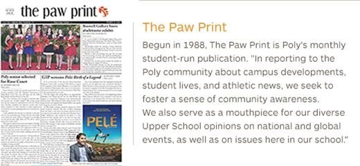 About> Publications> Paw Print