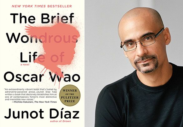 "Join Voces Book Club in discussing Junot Díaz's ""The Brief Wondrous Life of Oscar Wao."""