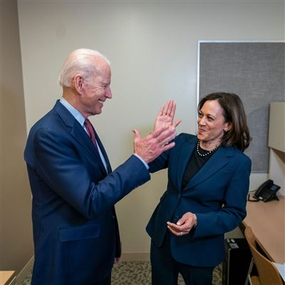 President Biden and Vice President Harris.